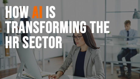 how ai transforming hr sector graphic