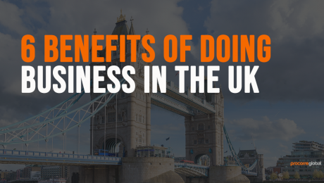 6 benefits of doing business in the uk graphic