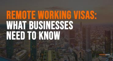 remote working visas blog post graphic