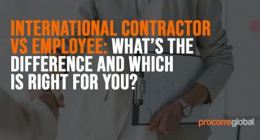 international contractor vs employee